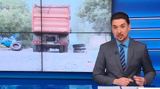 Жители против грузовиков