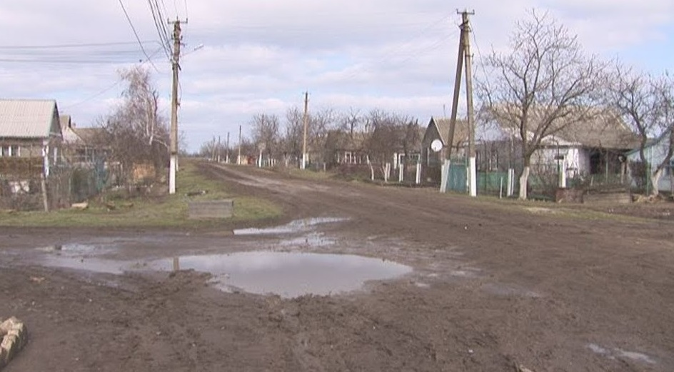Скандал при строительстве дороги в Переможном